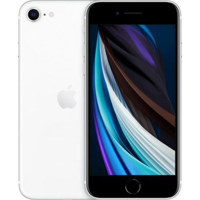 Apple iPhone SE 256GB 2020 White <strong>Δώρο Βάση Στήριξης Κινητού</strong>