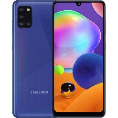 Samsung Galaxy A31 A315 Dual Sim 4GB RAM 64GB Blue <strong>Δώρο Βάση Στήριξης Κινητού</strong>