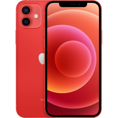 Apple iPhone 12 64GB Red <strong>Δώρο Βάση Στήριξης Κινητού</strong>
