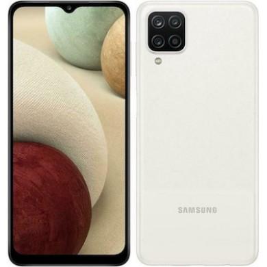 Samsung Galaxy A12 A125 Dual Sim 4GB RAM 64GB White <strong>Δώρο Βάση Στήριξης Κινητού</strong>