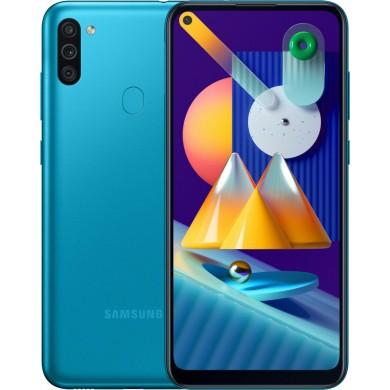 Samsung Galaxy M11 M115 Dual Sim 32GB Blue <strong>Δώρο Βάση Στήριξης Κινητού</strong>