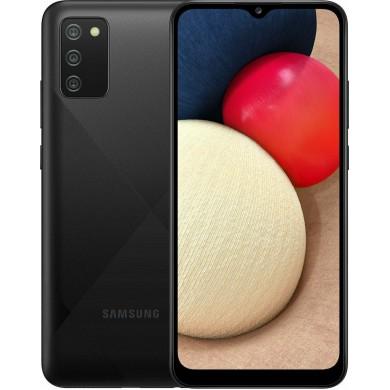 Samsung Galaxy A02s A025G/DSN Dual Sim 3GB RAM 32GB Black EU <strong>Δώρο Βάση Στήριξης Κινητού</strong>