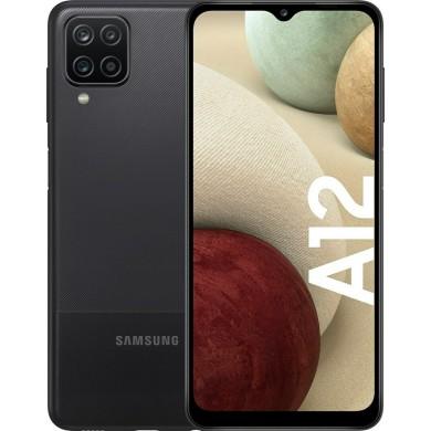 Samsung Galaxy A12 A125 Dual Sim 3GB RAM 32GB Black EU <strong>Δώρο Βάση Στήριξης Κινητού</strong>