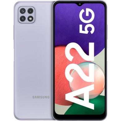 Samsung Galaxy A22 5G A226 Dual Sim 4GB RAM 128GB Violet EU <strong>Δώρο Βάση Στήριξης Κινητού</strong>