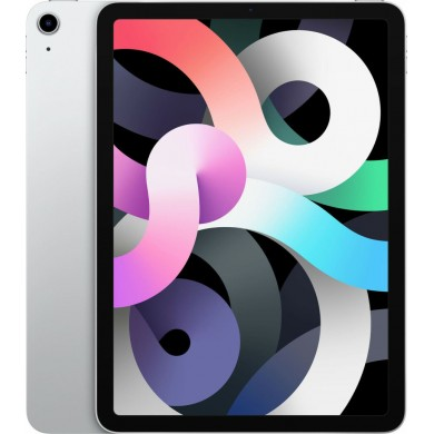 "Apple iPad 10.9"" Air 2020 64GB Wi-Fi  Silver EU <strong>Δώρο Βάση Στήριξης Tablet</strong>"