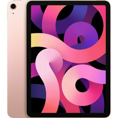 "Apple iPad Air 10.9"" 2020 256GB WiFi + Cellular Rose Gold EU <strong>Δώρο Βάση Στήριξης Tablet</strong>"